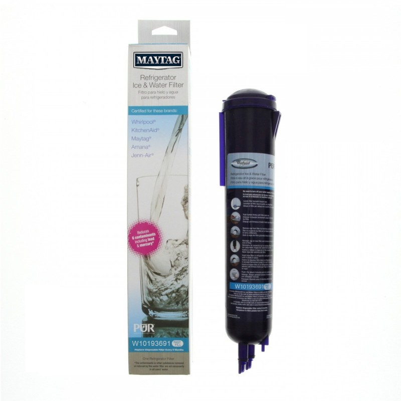 Maytag W10193691 Pur Refrigerator Ice And Water Filter
