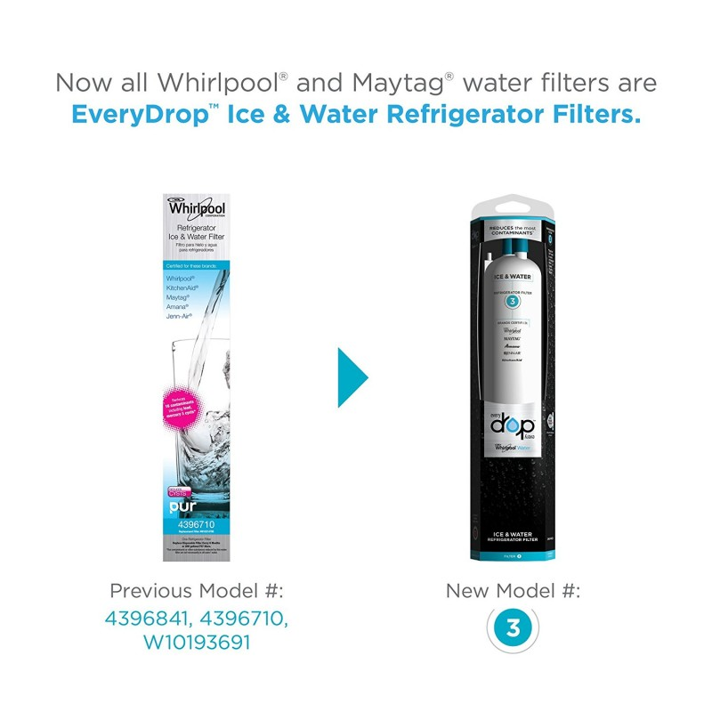 everydrop filter 3 replaces filters u0026 now whirlpool